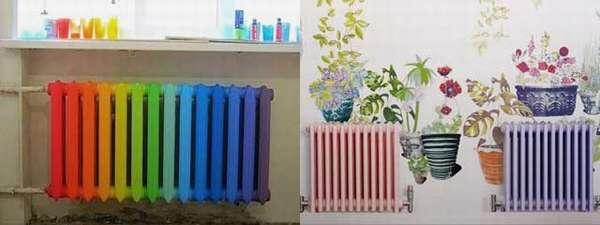 Можно ли красить горячие батареи отопления и как правильно это сделать?