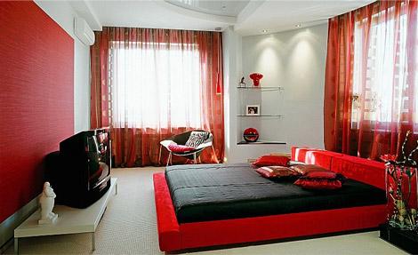 Для чего необходимо иметь шторы в спальне?