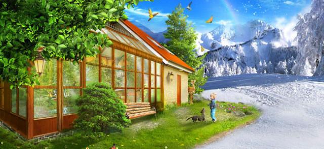 Дом с хорошим микроклиматом