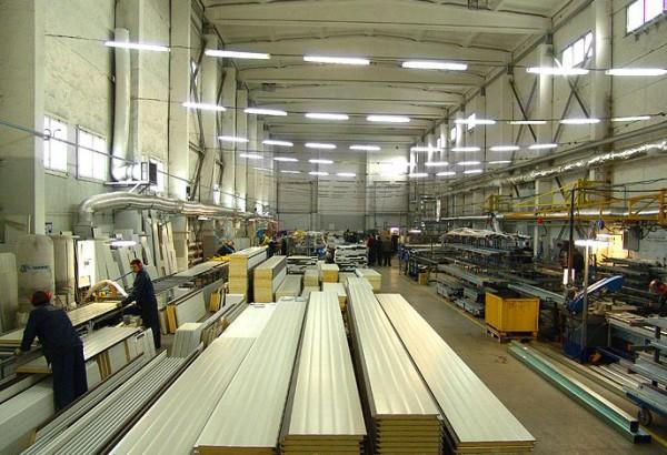 Использование современных систем освещения в производственных помещениях