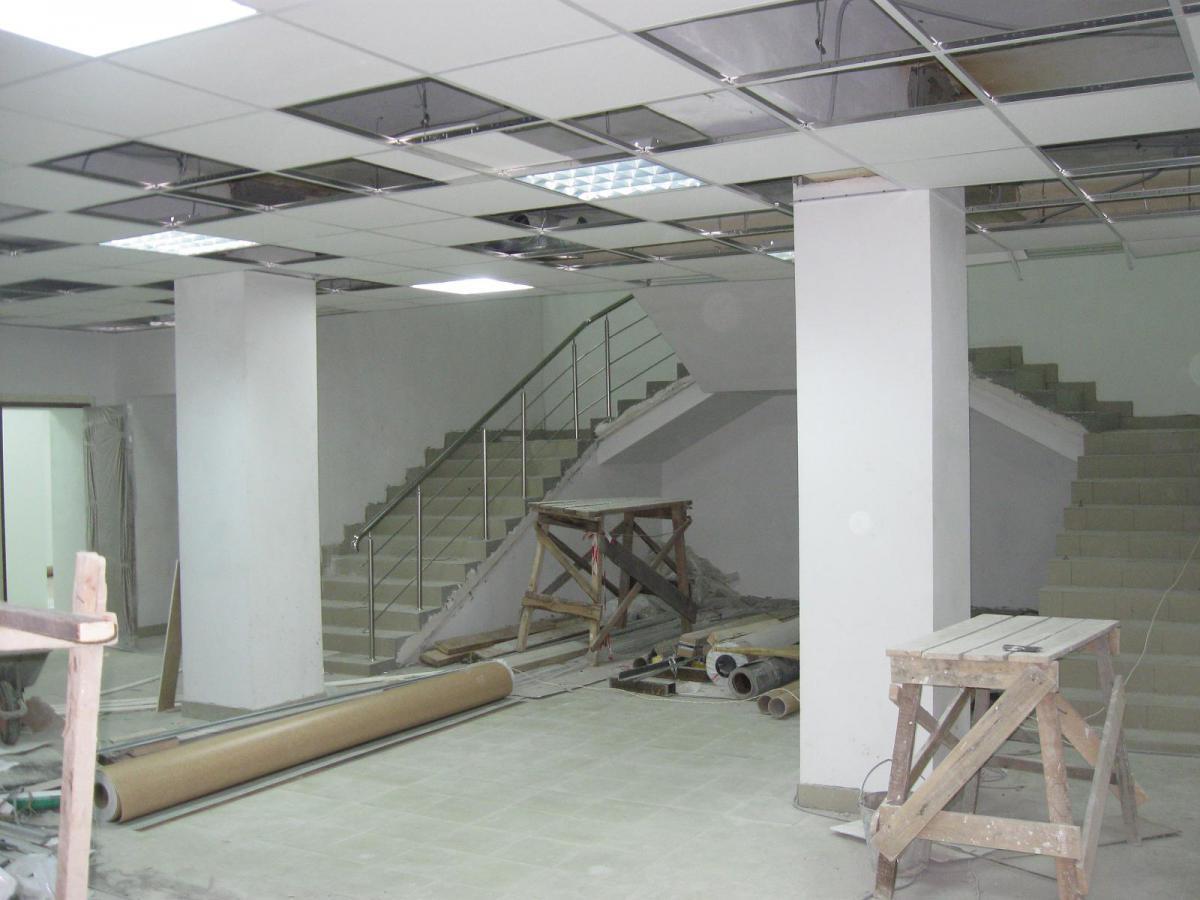 Наружный и внутренний ремонт зданий