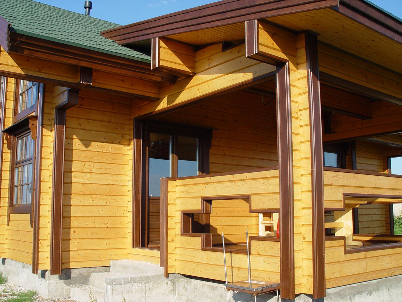 Особенности возведения домов из бруса
