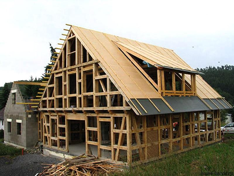 Возведение каркасного дома: принципы и особенности