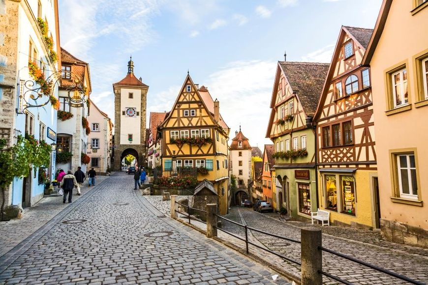 Такая разная недвижимость Германии