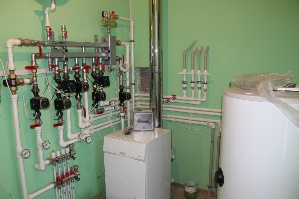 Газовое отопление в частном доме