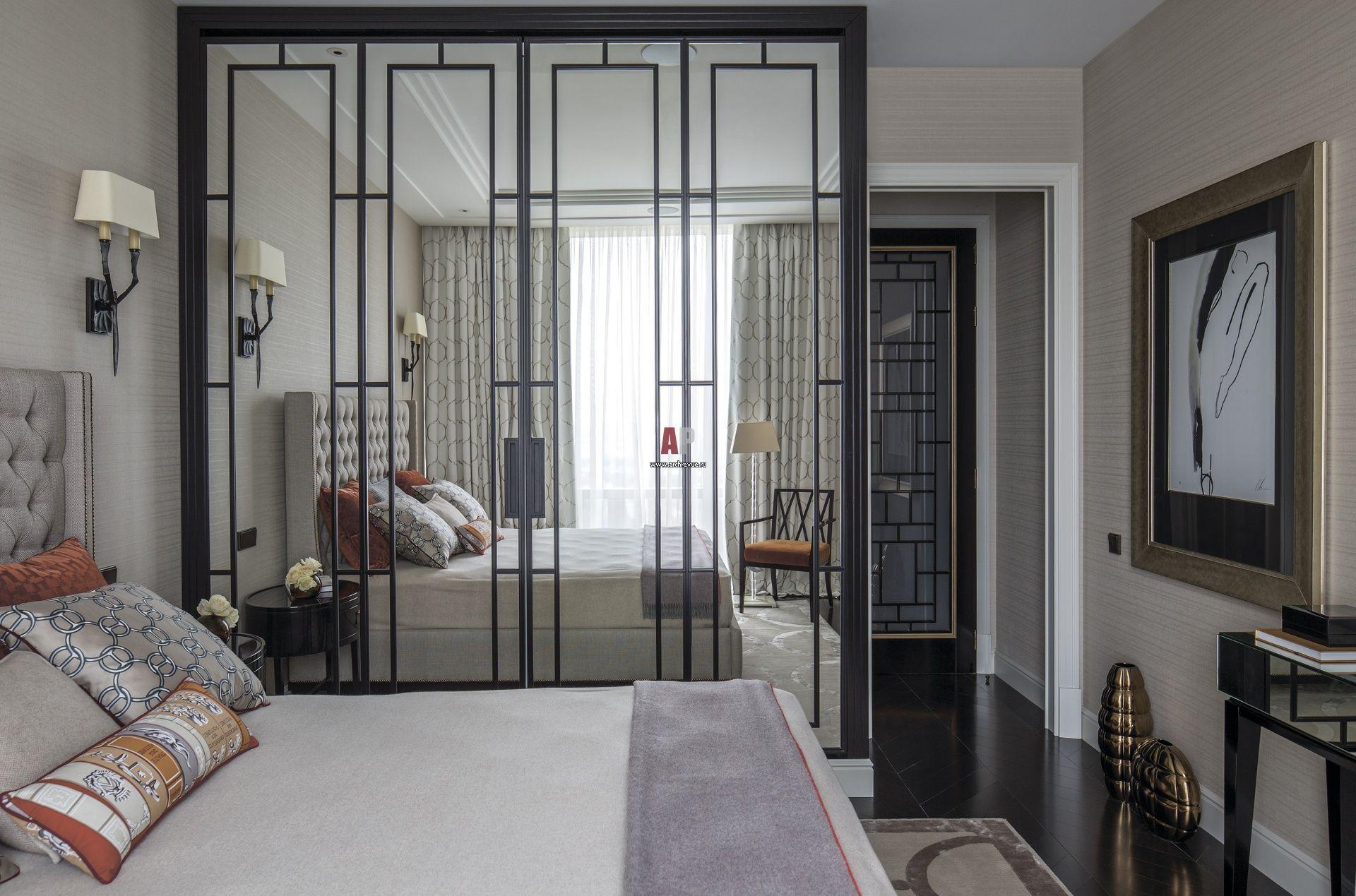 Как выбрать дизайн интерьера спальни и гардеробной в стиле ар-деко?